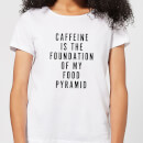 caffeine-is-the-foundation-of-my-food-pyramid-women-s-t-shirt-white-m-wei-
