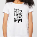 keep-on-being-merry-and-bright-women-s-t-shirt-white-xxl-wei-
