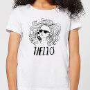 hello-women-s-t-shirt-white-xs-wei-