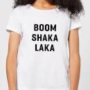 boom-shaka-laka-women-s-t-shirt-white-xxl-wei-, 17.49 EUR @ sowaswillichauch-de