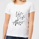 veni-vidi-amavi-women-s-t-shirt-white-m-wei-, 17.49 EUR @ sowaswillichauch-de