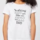 nothing-haunts-us-like-the-things-we-didn-t-buy-women-s-t-shirt-white-m-wei-, 17.49 EUR @ sowaswillichauch-de