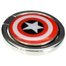 Lazerbuilt Marvel Captain America Shield Mobile Spin Grip Shield