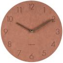 karlsson-wall-clock-dura-korean-wood-brown
