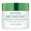 Image of APIVITA Bee Radiant crema illuminante anti-età - texture leggera 50 ml 5201279035846