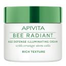 Image of APIVITA Bee Radiant crema illuminante anti-età - texture ricca 50 ml 5201279035853
