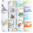 aden + anais Classic Swaddle 4 Pack Winnie the Pooh