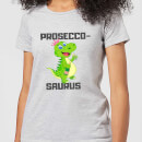 be-my-pretty-prosecco-saurus-women-s-t-shirt-grey-l-grau