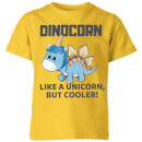 big-and-beautiful-dinocorn-kids-t-shirt-yellow-9-10-jahre-gelb