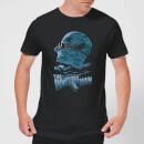 universal-monsters-the-invisible-man-illustrated-herren-t-shirt-schwarz-s-schwarz