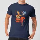 universal-monsters-die-mumie-vintage-poster-herren-t-shirt-navy-blau-s-marineblau