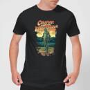 universal-monsters-der-schrecken-vom-amazonas-illustrated-herren-t-shirt-schwarz-s-schwarz