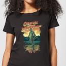 universal-monsters-der-schrecken-vom-amazonas-illustrated-damen-t-shirt-schwarz-s-schwarz