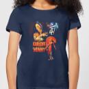 universal-monsters-die-mumie-vintage-poster-damen-t-shirt-navy-blau-s-marineblau