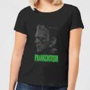universal-monsters-frankenstein-grauscale-damen-t-shirt-schwarz-s-schwarz