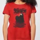 universal-monsters-dracula-illustrated-damen-t-shirt-rot-s-rot