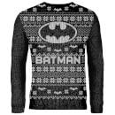 Zavvi Exclusive Batman Knitted Christmas Jumper