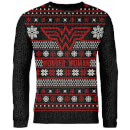 Zavvi Exclusive Wonder Woman Knitted Christmas Jumper