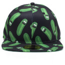 rick-and-morty-pickle-rick-snapback-black