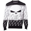 marvel-the-punisher-christmas-knitted-jumper-black-xl-schwarz
