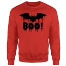 boo-bat-sweatshirt-red-s-rot