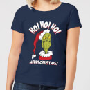 the-grinch-ho-ho-ho-damen-christmas-t-shirt-navy-blau-s-marineblau