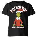 the-grinch-ho-ho-ho-smile-kinder-christmas-t-shirt-schwarz-9-10-jahre-schwarz