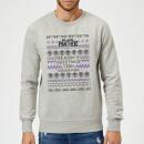 marvel-avengers-season-s-greetings-from-wakanda-christmas-sweatshirt-grey-xl-grau