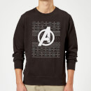 marvel-avengers-logo-christmas-sweatshirt-black-xl-schwarz