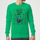 marvel-avengers-hulk-christmas-sweatshirt-kelly-green-m-kelly-green, 29.99 EUR @ sowaswillichauch-de
