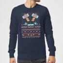 marvel-avengers-thor-pixel-art-weihnachtspullover-navy-blau-xxl-marineblau