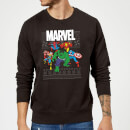 marvel-avengers-group-christmas-sweatshirt-black-s-schwarz