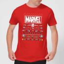marvel-avengers-pixel-art-herren-christmas-t-shirt-rot-s-rot