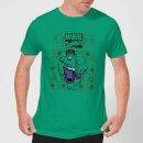 marvel-avengers-hulk-men-s-christmas-t-shirt-kelly-green-m-kelly-green