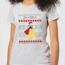 disney-classic-snow-white-women-s-christmas-t-shirt-grey-s-grau, 17.49 EUR @ sowaswillichauch-de