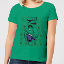 marvel-avengers-hulk-women-s-christmas-t-shirt-kelly-green-m-kelly-green