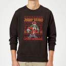 johnny-bravo-johnny-bravo-pattern-christmas-sweatshirt-black-5xl-schwarz