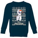 disney-frozen-olaf-kids-sweatshirt-navy-7-8-jahre-marineblau