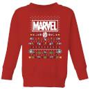 marvel-avengers-pixel-art-kinder-pullover-rot-3-4-jahre-rot