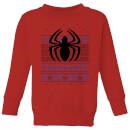 marvel-avengers-spider-man-logo-kinder-pullover-rot-3-4-jahre-rot