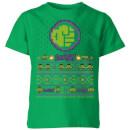 marvel-avengers-hulk-smash-pixel-art-kinder-t-shirt-grun-3-4-jahre-kelly-green