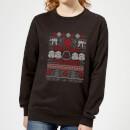 star-wars-merry-sithmas-knit-women-s-sweatshirt-black-xs-schwarz