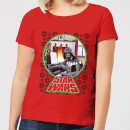 star-wars-a-very-merry-sithmas-women-s-t-shirt-red-xs-rot