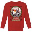star-wars-a-very-merry-sithmas-kids-sweatshirt-red-3-4-jahre-rot