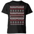 star-wars-on-the-naughty-list-pattern-kinder-t-shirt-schwarz-9-10-jahre-schwarz