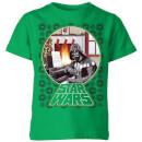 star-wars-a-very-merry-sithmas-kids-t-shirt-kelly-green-3-4-jahre-kelly-green
