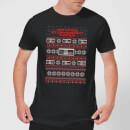 nintendo-christmas-nes-pattern-herren-t-shirt-schwarz-3xl-schwarz, 17.99 EUR @ sowaswillichauch-de