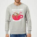 merry-slothmas-christmas-sweatshirt-grey-xxl-grau