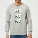 ho-ho-ho-christmas-sweatshirt-grey-xl-grau