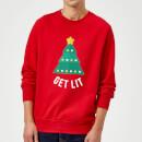 get-lit-christmas-sweatshirt-red-l-rot